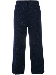 широкие укороченные брюки Pringle Of Scotland