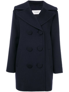 двубортное пальто Pringle Of Scotland
