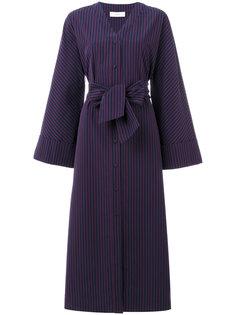 полосатое платье с поясом Pringle Of Scotland