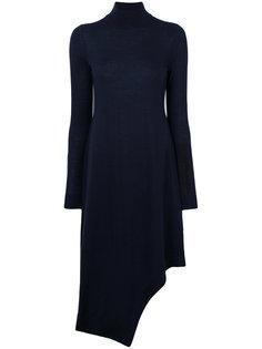 асимметричное платье с высоким воротом Pringle Of Scotland