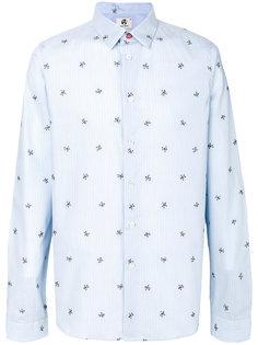 полосатая рубашка с узором из космонавтов Ps By Paul Smith