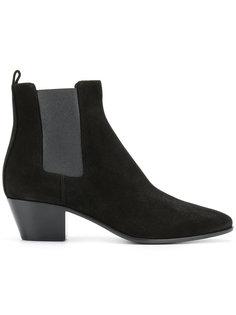 классические ботинки челси Saint Laurent