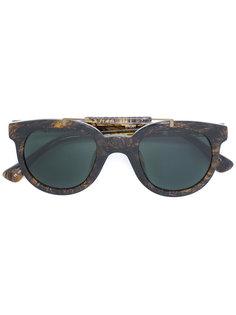 солнцезащитные очки в округлой оправе Linda Farrow Gallery