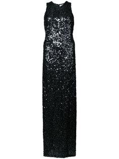 вечернее платье с пайетками Galvan