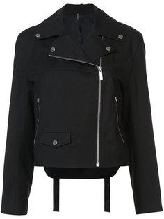 байкерская куртка на молнии Helmut Lang