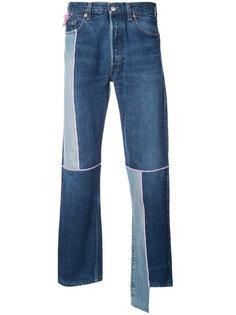 лоскутные джинсы Neith Nyer