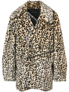 пальто с леопардовым принтом Neith Nyer