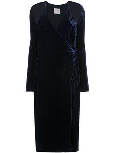 платье шифт с запахом Dion Lee