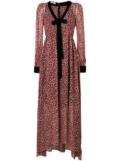 платье макси с цветочным узором Philosophy Di Lorenzo Serafini