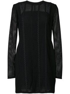 платье-шифт с панельным дизайном Victoria Victoria Beckham