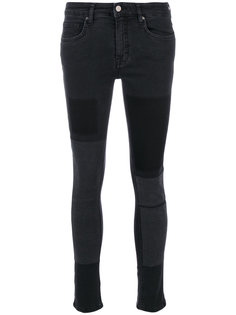 узкие джинсы в стиле пэчворк Victoria Victoria Beckham