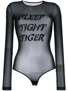боди Sleep Tight Tiger Mm6 Maison Margiela