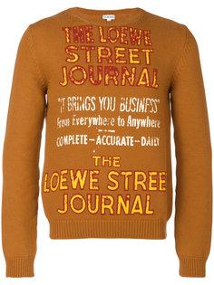 свитер Street Journal Loewe
