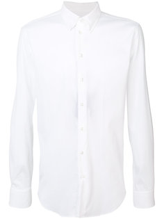 рубашка узкого кроя Giorgio Armani