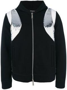 куртка-бомбер с контрастными вставками Dsquared2