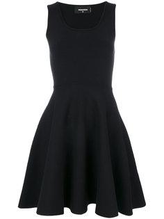 расклешенное платье  Dsquared2