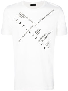 футболка с принтом из слов Diesel Black Gold