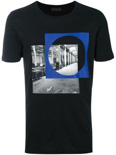 футболка с цифровым рисунком Diesel Black Gold