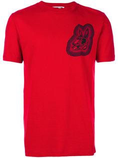футболка с принтом в виде черепа кролика McQ Alexander McQueen