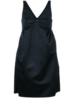 расклешенное платье без рукавов Rochas