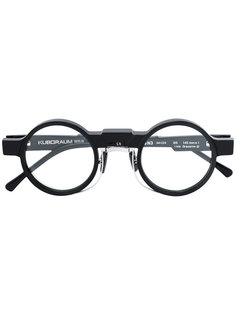 солнцезащитные очки в круглой оправе Kuboraum