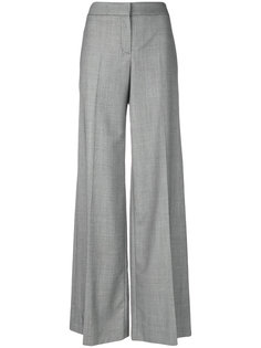 строгие брюки Palazzo Alexander McQueen