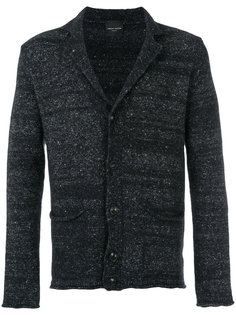 трикотажный пиджак с V-образной горловиной Roberto Collina