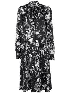 платье-рубашка с цветочным рисунком McQ Alexander McQueen