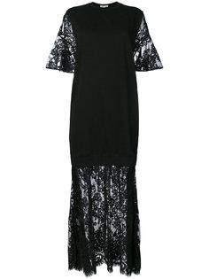 платье с кружевной отделкой McQ Alexander McQueen