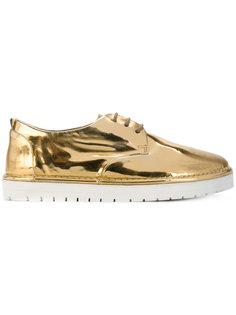 ботинки на платформе со шнуровкой Marsèll