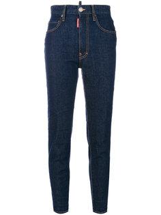 джинсы с завышенной посадкой Twiggy Dsquared2