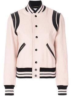 университетская куртка Saint Laurent