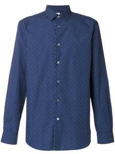 рубашка с принтом в виде сердечек  Paul Smith