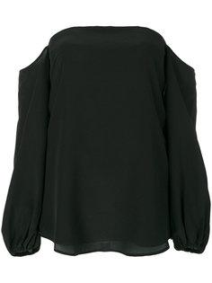 блузка с открытыми плечами Theory