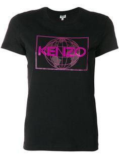 футболка Kenzo World Kenzo