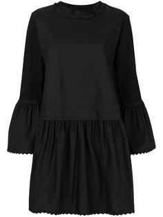 платье с расклешенными рукавами Mm6 Maison Margiela