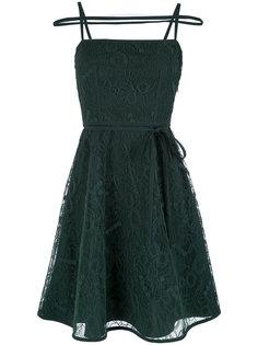 straps design short dress Gloria Coelho