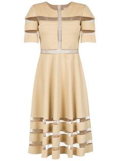 tulle panelled dress Gloria Coelho