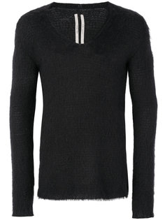 свитер с V-образным вырезом Rick Owens