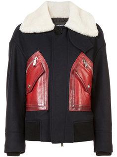 пальто с контрастными карманами Dsquared2