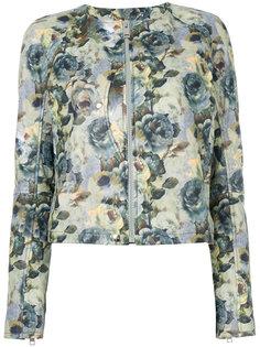 пиджак с цветочным принтом Diesel