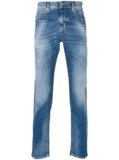 выбеленные джинсы Diesel