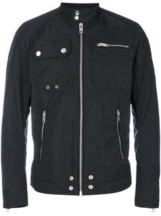 куртка-бомбер с молниями Diesel