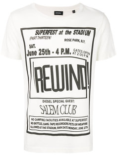 футболка с принтом Rewind Diesel