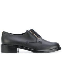 туфли на шнуровке Salvatore Ferragamo