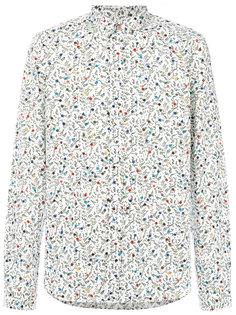 рубашка с длинными рукавами с цветочным принтом Ps By Paul Smith