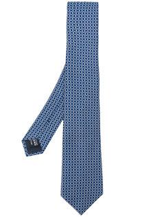 галстук с принтом Giorgio Armani