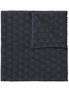 шарф с монограммами  Giorgio Armani