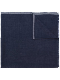 шарф с необработанными краями Giorgio Armani