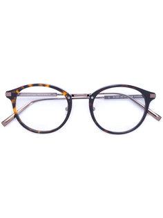 очки с эффектом черепахового панциря Ermenegildo Zegna